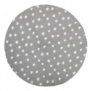 Covor gri din iuta 100 cm Stella Bloomingville