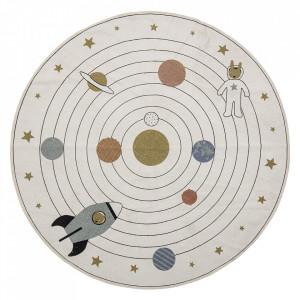 Covor multicolor din bumbac 130 cm Cosmic Bloomingville Mini