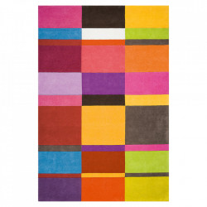 Covor multicolor din lana Patch Ligne Pure (diverse dimensiuni)
