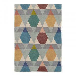 Covor multicolor din lana si viscoza Estella Vases Ali Brink & Campman (diverse dimensiuni)