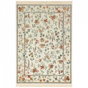 Covor multicolor din viscoza si bumbac Oriental Flowers Nouristan (diverse dimensiuni)
