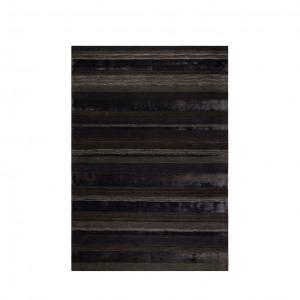 Covor negru din lana 170x240 cm Dobs Urban Dutchbone