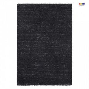 Covor negru din polipropilena Passion Orly Black Elle Decor (diverse dimensiuni)