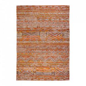 Covor portocaliu din bumbac si lana Antiquarian Riad Orange Louis de Poortere (diverse dimensiuni)