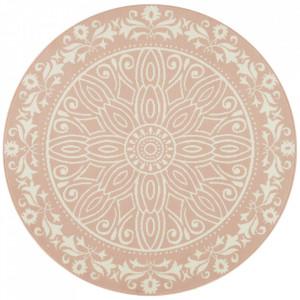 Covor roz din polipropilena 140 cm Vintage Floral The Home