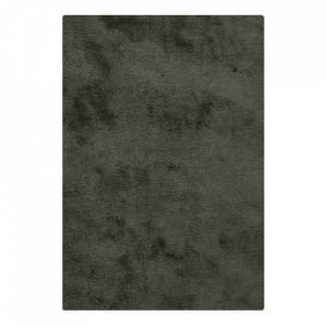 Covor verde din poliester 160x230 cm Florida House Nordic