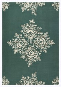Covor verde Gloria Blossom Hanse Home (diverse marimi)