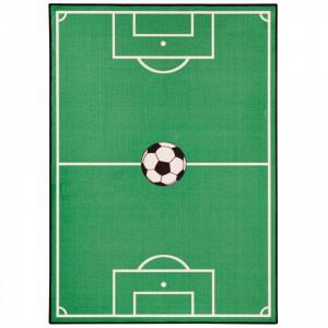 Covor verde pentru copii Football Zala Living