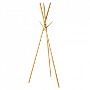 Cuier maro din lemn Bamboo Rack Unimasa