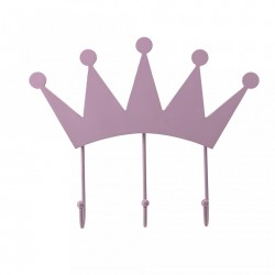 Cuier roz din metal Crown Bloomingville