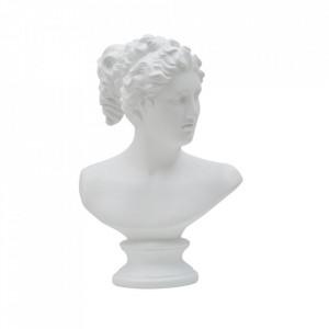 Decoratiune alba din polirasina 34 cm Roman Girl Mauro Ferretti