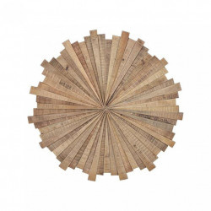 Decoratiune de perete maro din lemn de mango 92 cm Nature Giner y Colomer