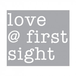 Decoratiune luminoasa alba din sticla Neon Art Love First Sight Seletti