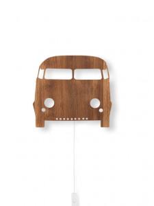 Decoratiune luminoasa din lemn cu LED Car Ferm Living