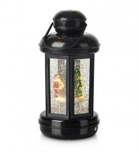 Decoratiune luminoasa LED neagra din plastic Cosy Lantern Black Markslojd
