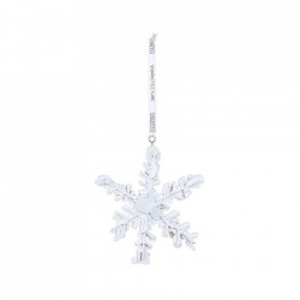 Decoratiune suspendabila alba din rasina Snowflake Seletti