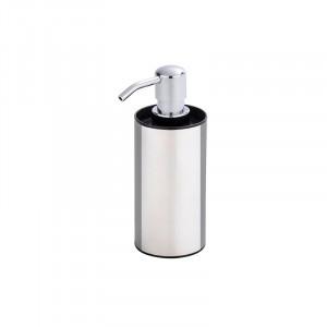Dispenser argintiu/negru din inox si plastic 200 ml Detroit Soap Wenko