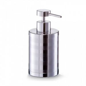 Dispenser sapun lichid argintiu din inox 330 ml Timeless Design Zeller