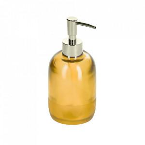 Dispenser sapun lichid galben din polipropilena si polirasina 8 cm Maive Kave Home
