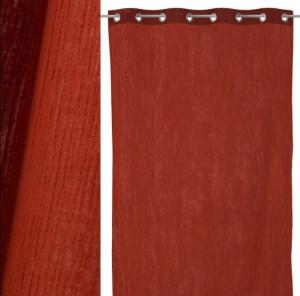 Draperie maro din bumbac 130x260 cm Trendy Kim Unimasa