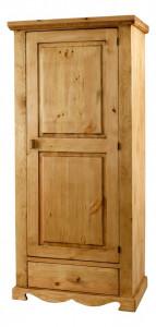 Dulap maro din lemn 186 cm Couleurs des Alpes Opera Zago