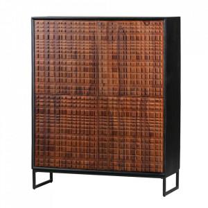 Dulapior maro din lemn Authentic Woood