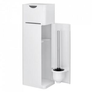 Dulapior pentru baie alb din plastic Imon Wenko