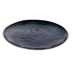 Farfurie albastra din ceramica 28,4 cm Odile Kave Home
