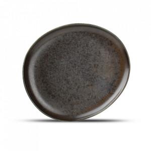 Farfurie intinsa neagra din portelan 18,5x21 cm Ceres Fine2Dine