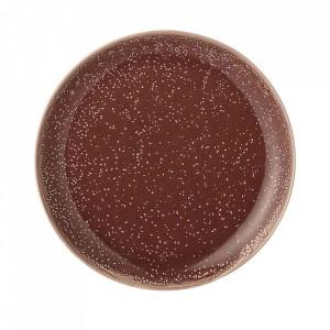 Farfurie maro din ceramica 20 cm Joelle Bloomingville