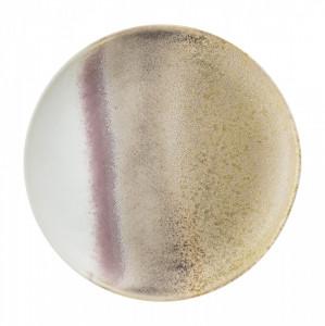 Farfurie multicolora din ceramica 20,5 cm Alba Bloomingville