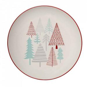 Farfurie multicolora din ceramica 25 cm Lucia Bloomingville