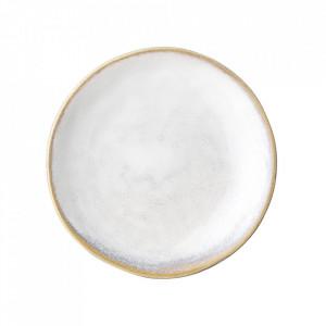 Farfurie pentru desert alba din ceramica 11 cm Camellia Creative Collection