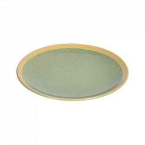 Farfurie pentru desert verde deschis din ceramica 21 cm Tilla Kave Home