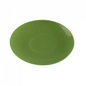 Farfurioara verde din ceramica 18 cm Ikas Versa Home