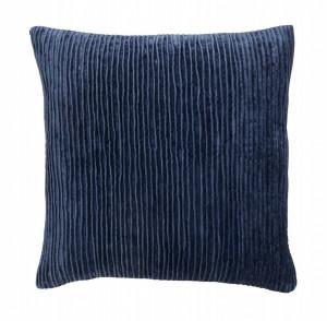 Fata de perna albastru inchis din bumbac 48x48 cm Polaris Nordal