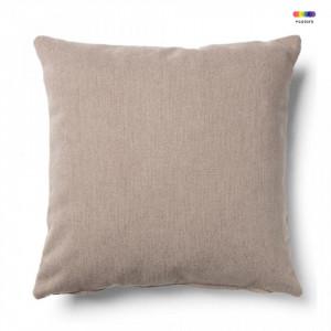 Fata de perna maro din textil 45x45 cm Mak Bulova La Forma
