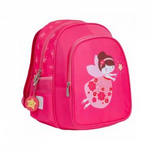 Ghiozdan roz din poliester Fairy A Little Lovely Company