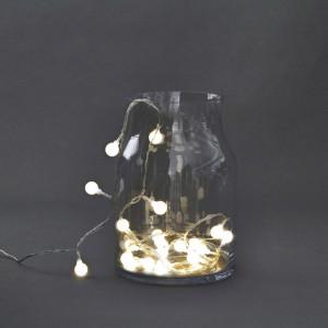 Ghirlanda luminoasa cu 30 becuri LED Globe House Doctor