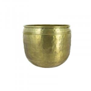 Ghiveci auriu din aluminiu 21 cm Jeannie Lifestyle Home Collection