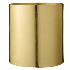 Ghiveci auriu din metal 22x23 cm Bloomingville