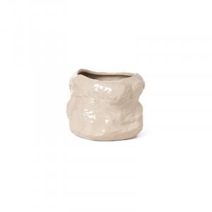 Ghiveci crem din ceramica 29 cm Tuck Ferm Living