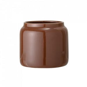 Ghiveci maro din ceramica 20 cm Sara Bloomingville