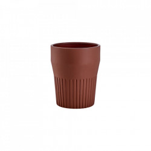 Ghiveci maro din ceramica 22 cm Thea Small Bolia