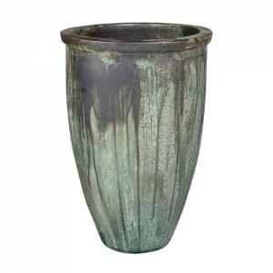 Ghiveci verde din teracota 61 cm Taper Versmissen
