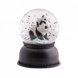 Glob decorativ multicolor din plastic acrilic 14 cm Panda A Little Lovely Company
