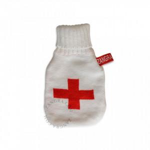 Husa din textil pentru termofor Mini Knitted Briana Zangra