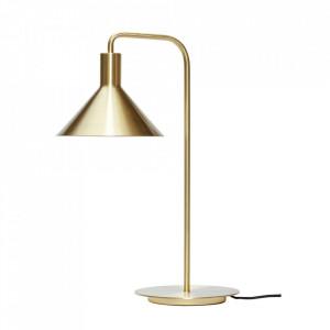Lampa birou aurie din fier 50 cm Yves Hubsch