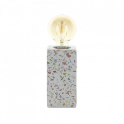 Lampa birou multicolora din beton si piatra 16 cm Shani LifeStyle Home Collection