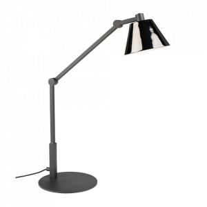 Lampa birou neagra din fier 45 cm Lamb Zuiver